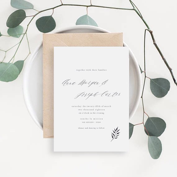 Say hello to Morgan! 🌿 . . . . . #seekthesimplicity #beinspired #customweddinginvitations #texasbride #stationerydesigner #weddingpapergoods #wedding #weddingstationery #weddinginvitation #weddinginvitations #stationery #stationerysuite #invitation #invitationsuite #invitations #weddngplanning #weddinginspo #weddinginsperation #weddingideas #design #prettypaper #simplicitypapers #makewavesmonday #risingtidesociety #darlingmovement