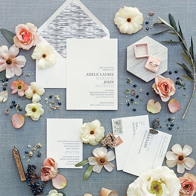 Check out our Natalie Suite in the current issue of Brides of Austin Magazine! 😍 . . . . . . . #nothingisordinary #papergoods #paperlove #simplethingsmadebeautiful #customweddinginvitations #texasbride #stationerydesigner #weddingpapergoods #wedding #weddingstationery #weddinginvitation #weddinginvitations #stationery #stationerysuite #invitation #invitationsuite #invitations #weddngplanning #weddinginspo #weddinginsperation #weddingideas #design #prettypaper #simplicitypapers #bridesofaustin