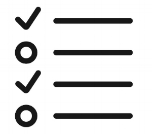Checklist by David from the Noun Project
