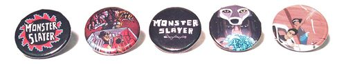 Monster Slayer Project Button Set!