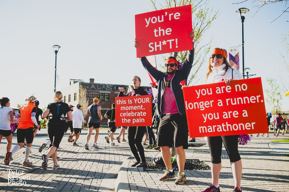 East Village Spirit Hub @ Calgary Marathon