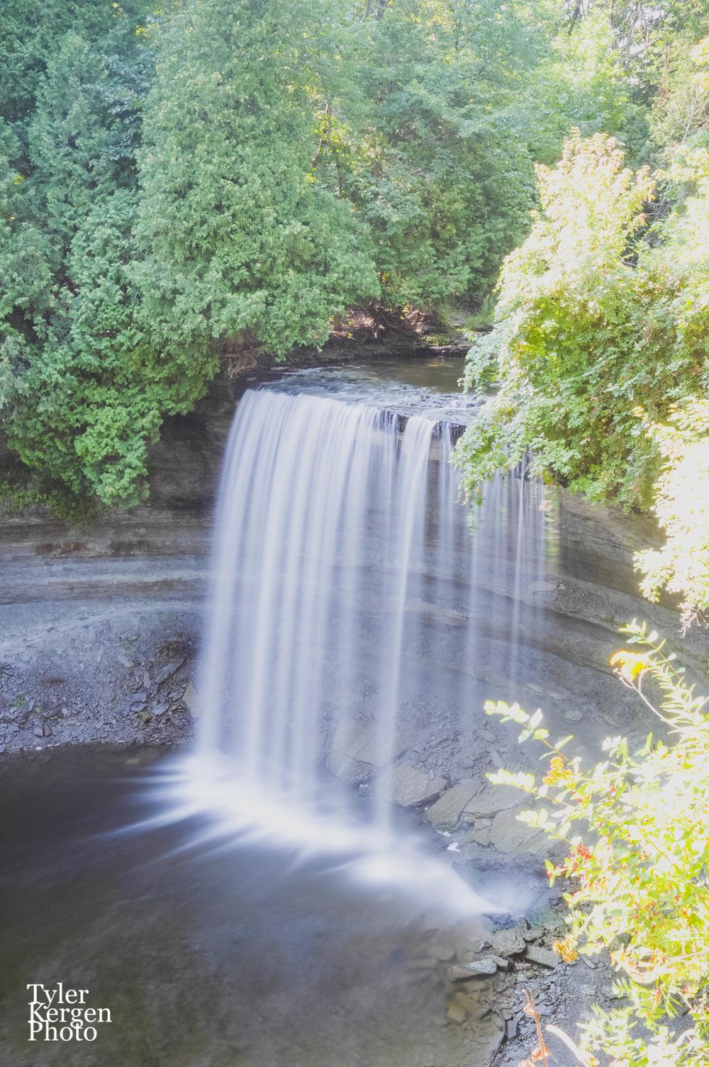 Bridal Veil Falls @ Manitoulin Island, ON