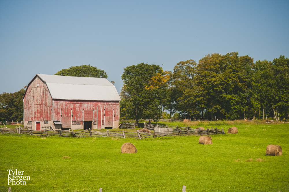 Red Barn @ Manitoulin Island, ON