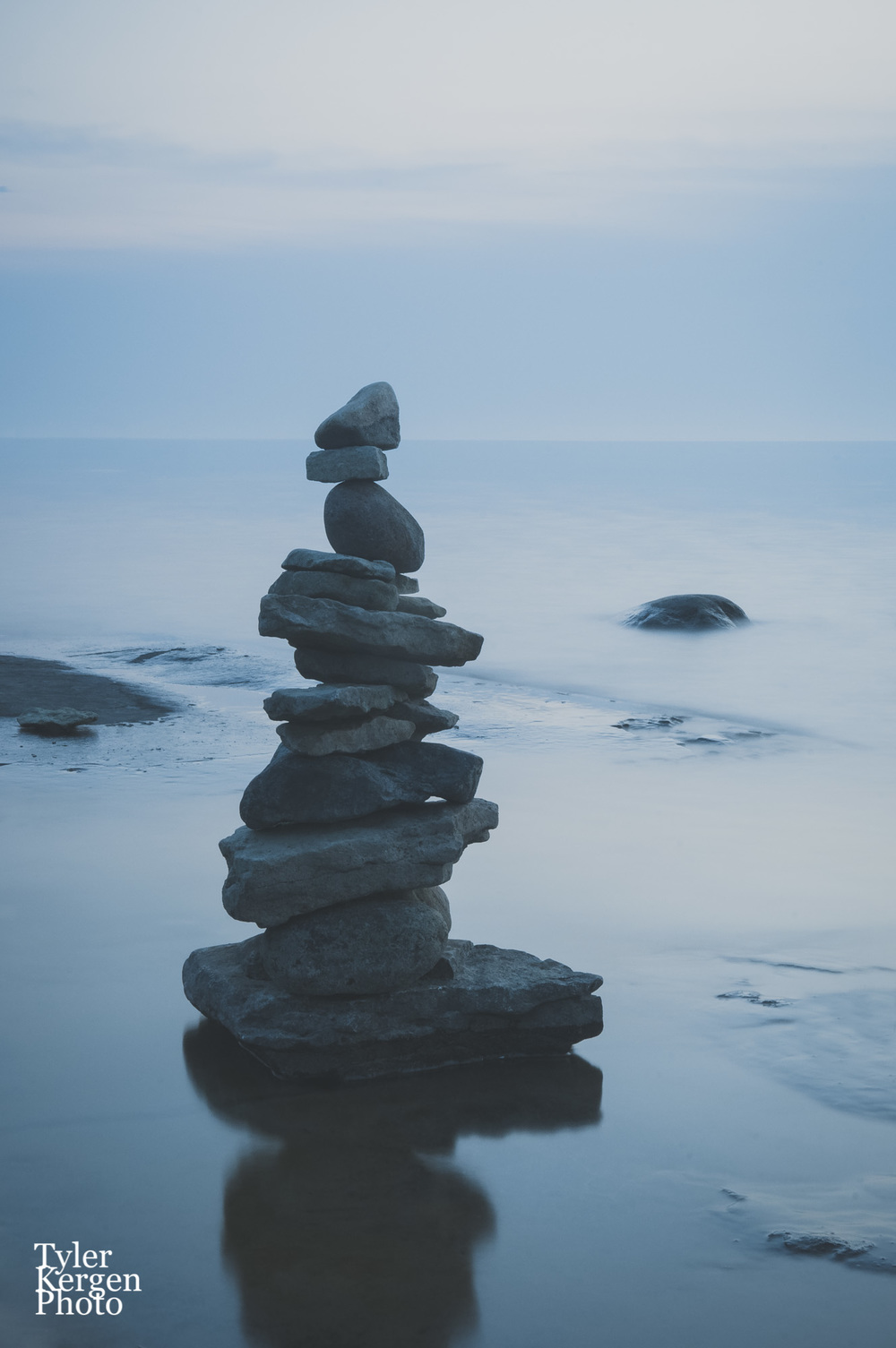 Rock Stack @ Providence Bay - Manitoulin Island, AB
