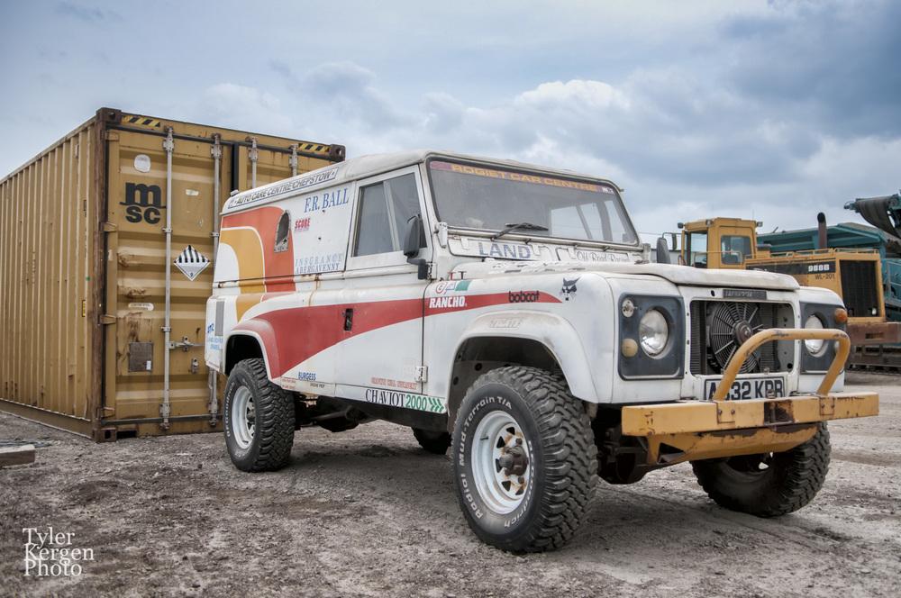 Baja Land Rover 1