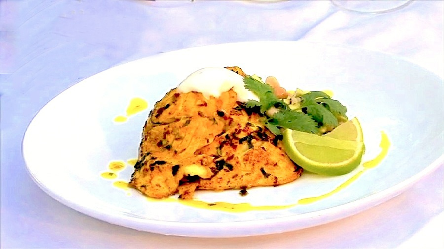 Moroccan Spiced Golden Perch - click for Paul's recipe