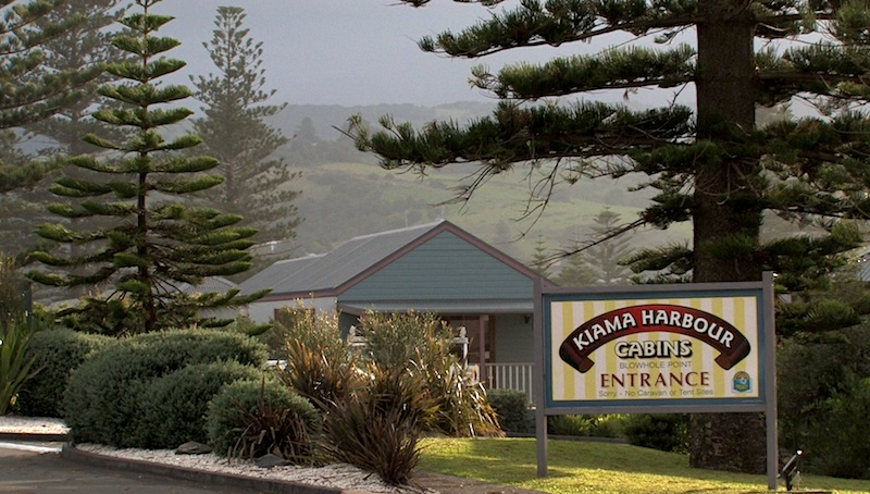 Kiama Cabins are right on the harbour and a great place to stay.