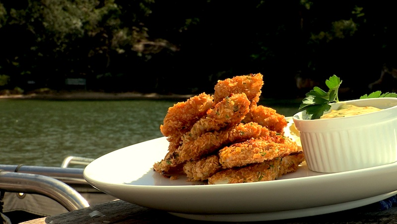 Check out Paul's Fish Finger recipe