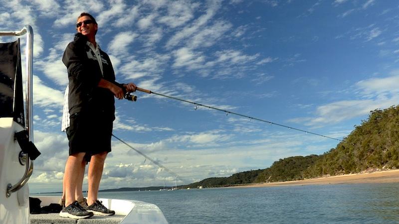 Fishing Harvey Bay