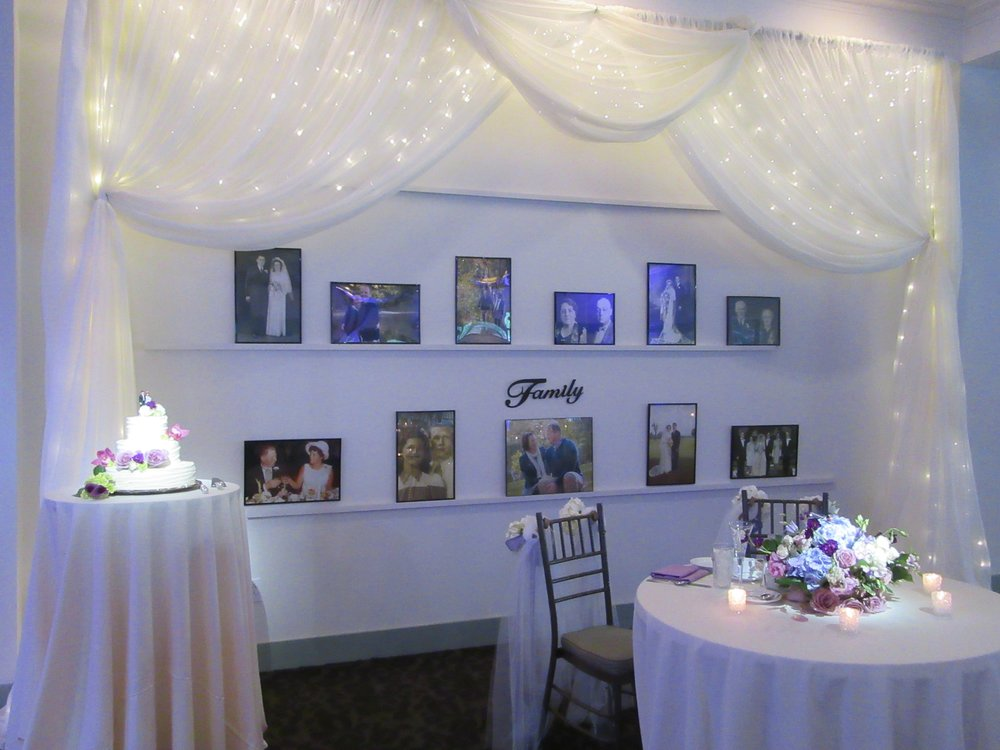 Our team is flexible and happy to help you create the wedding of your dreams.
