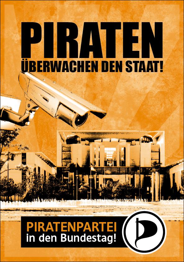 Piraten überwachen den Staat