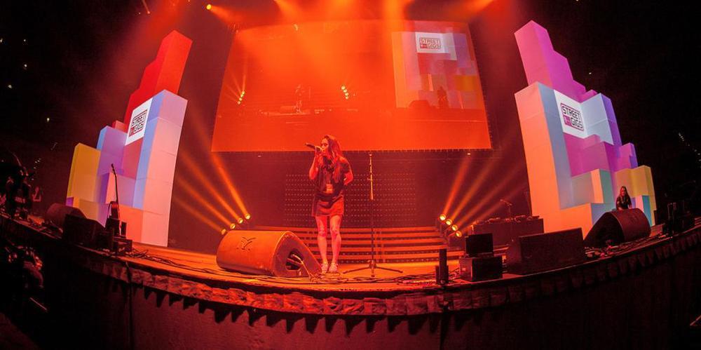 Die Streetgigsbühne auf den Videodays 2014