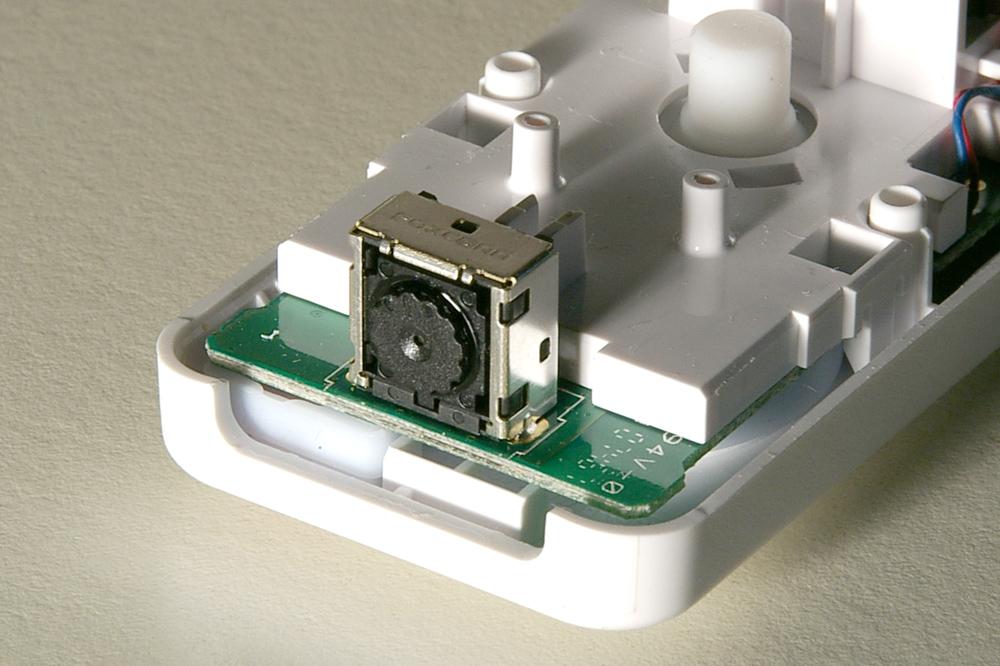 the PixArt sensor