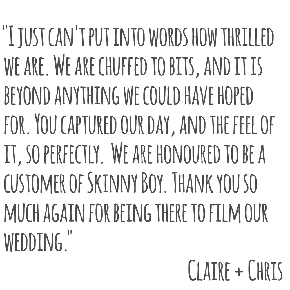 Claire + Chris