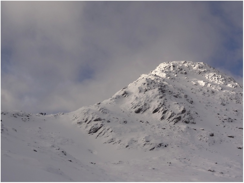 The start of the Forcan ridge (the other group are visible at the base of the ridge)