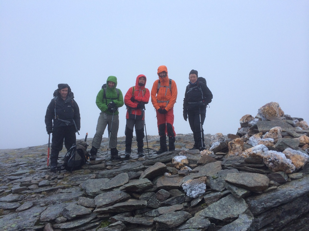 ....another summit shot, same cast as the first.......but.....
