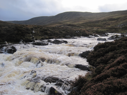 Callater Water in spate