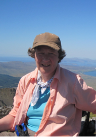 On top of the world – Am Basteir at any rate!