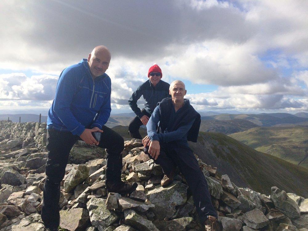 Summit of Creag Leacach