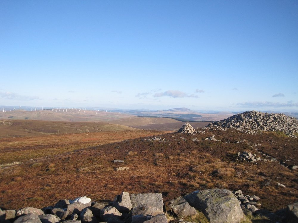 Tinto Hill from the summit of Cairn Table