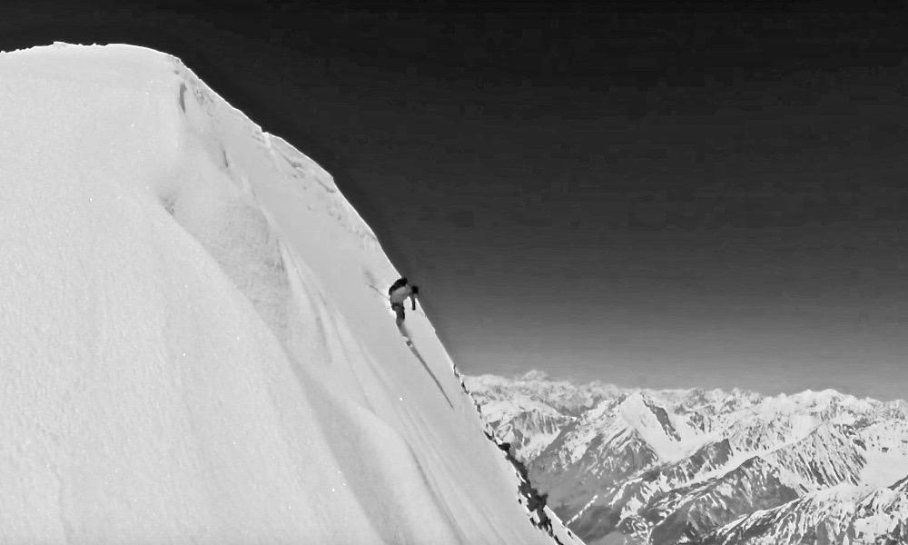 Skiing Mt. Noshaq (7492m) Afghanistan © Lois Robatel & Arnaud Cottet