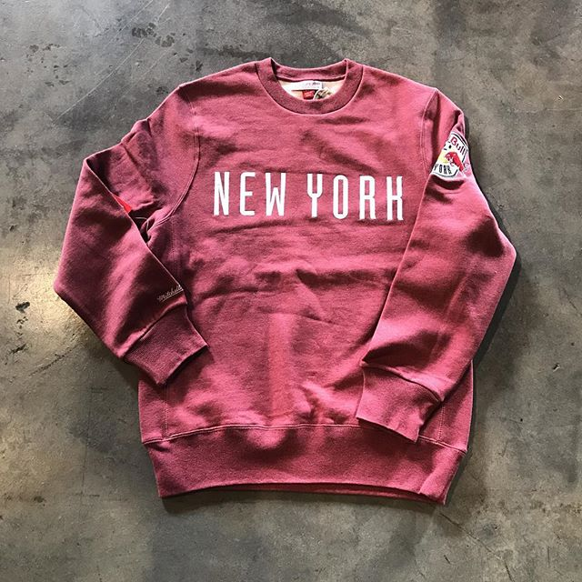 New York Red Bull's crewneck by @mitchellness! Available @mamcoutureboutique! #Feelikeamill . . . . . #mamcouture #mamcoutureboutique #streetwear #style #boutique #fashion #denverboutique #denver #mensfashion #womensfashion