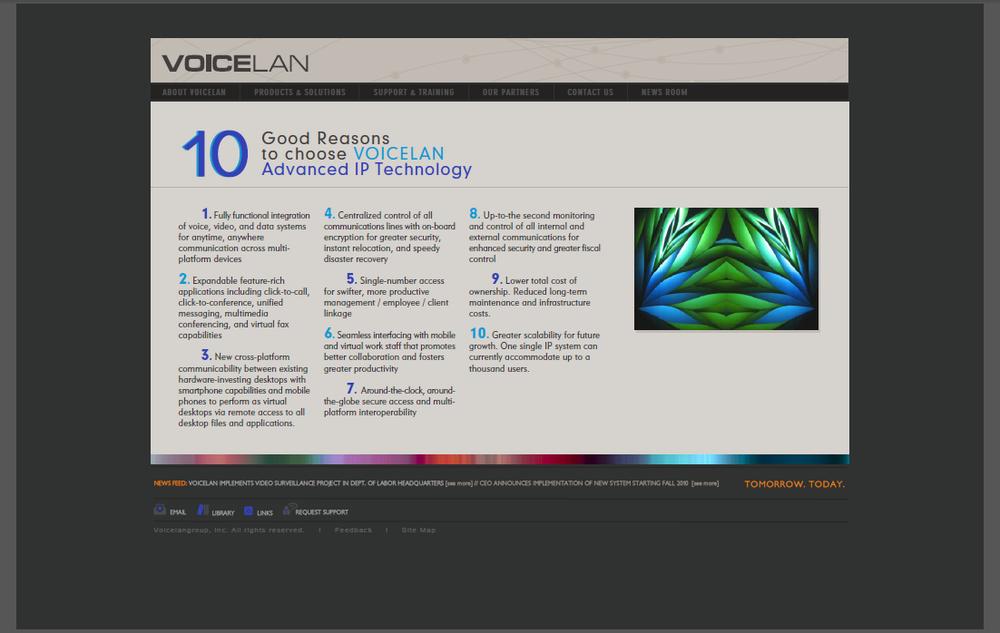Cisco affiliate, Website