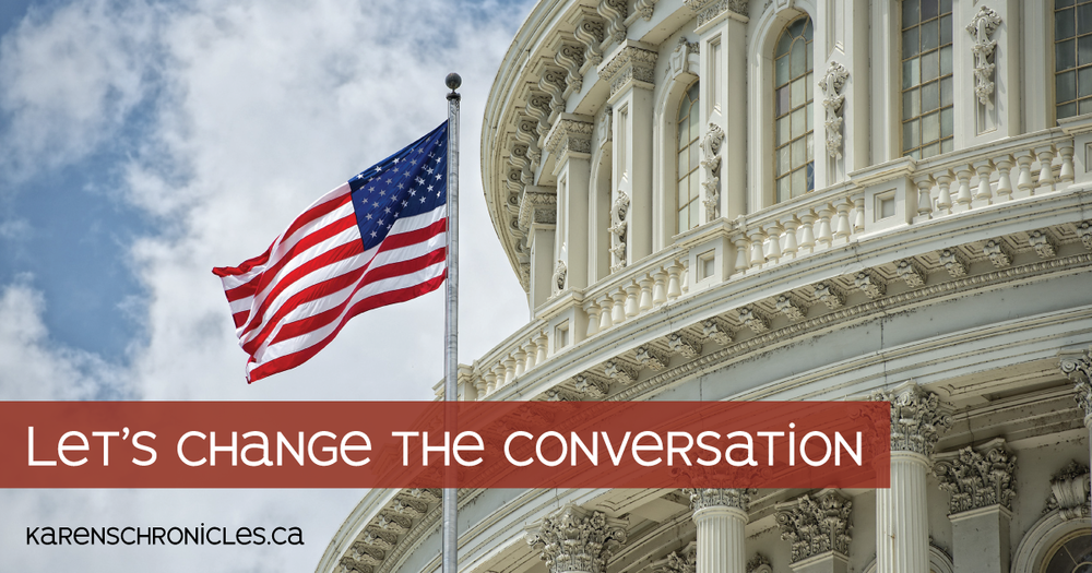 We need to change the political conversation before it's too late.
