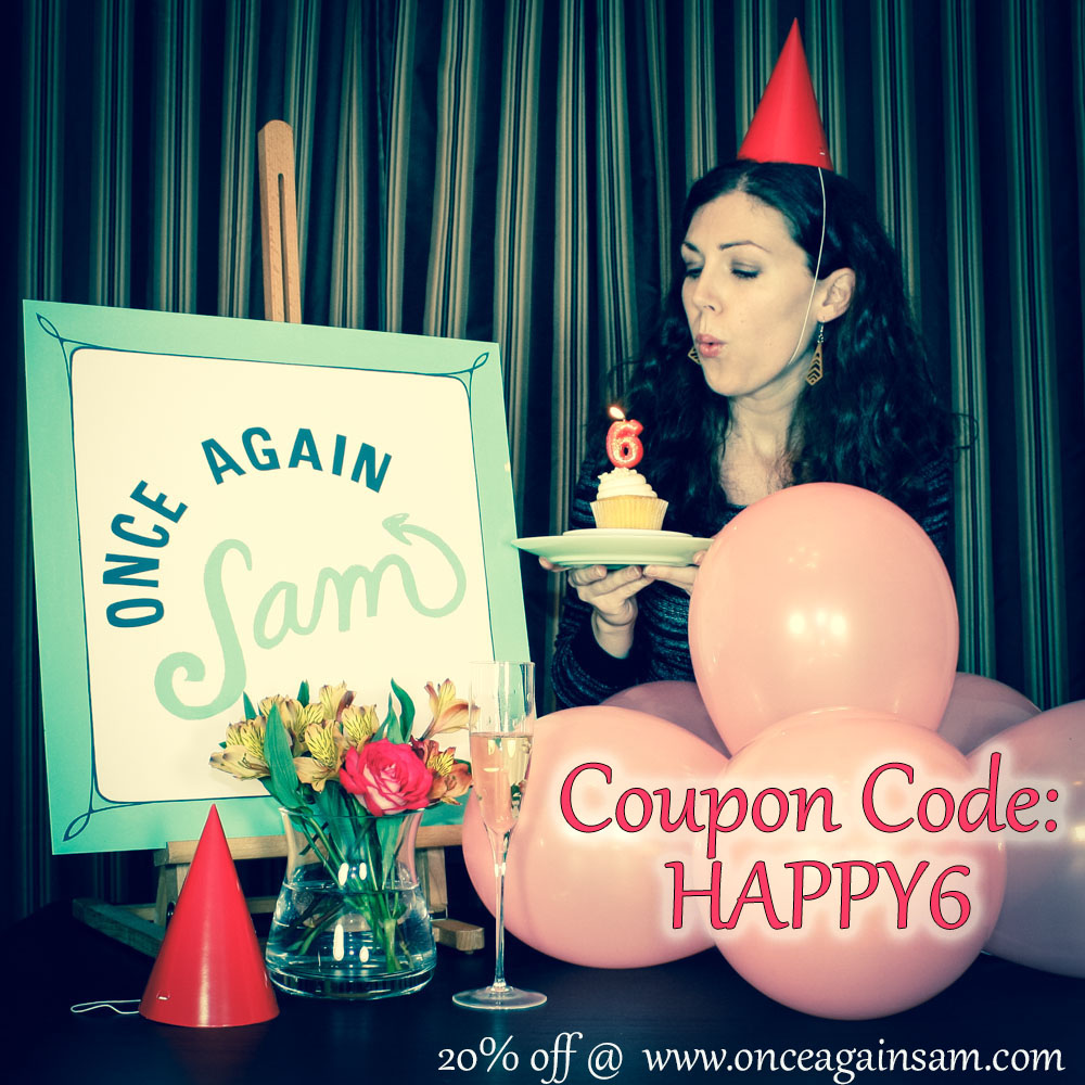 Get 20% off your entire purchase in my Etsy shop with this coupon code!