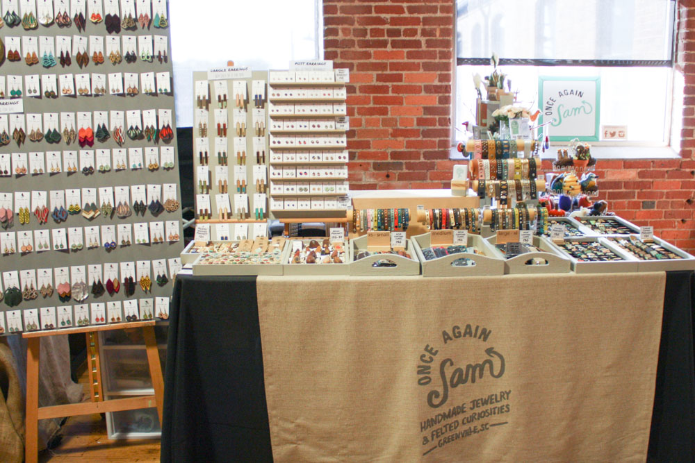 My Indie Craft Parade 2015 booth setup