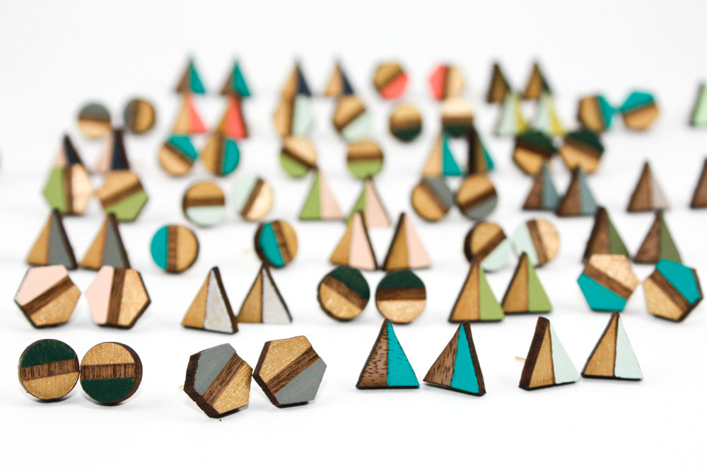 Geometric Post Earrings.jpg