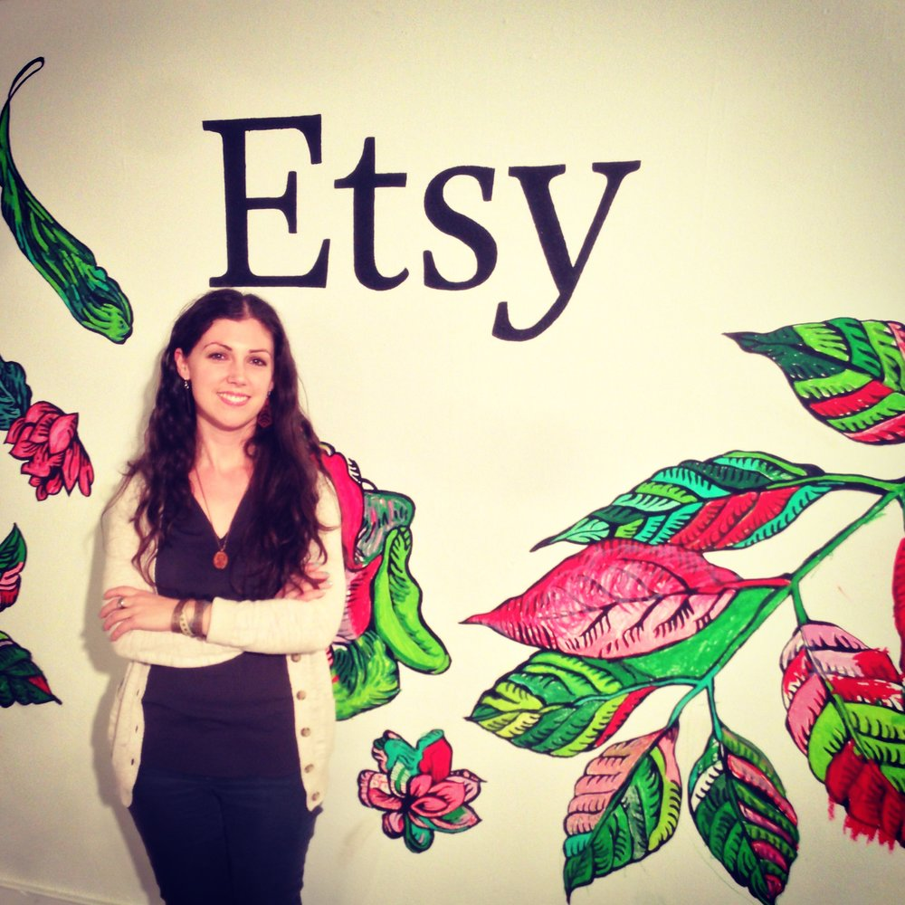 Photo from 2013 when I was part of the Etsy section at the One of a Kind Show in Chicago, IL.