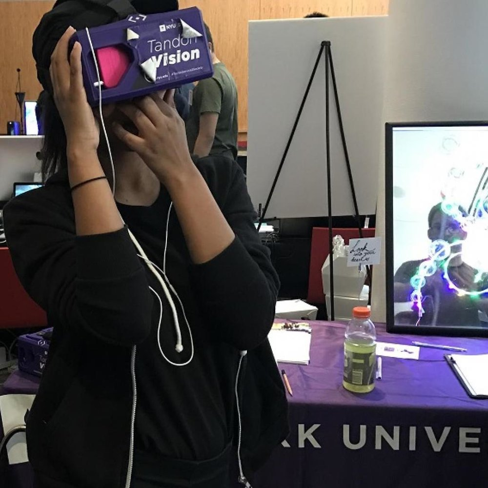 Visionary VR/AR projects from Tandon community featured at NYC Media Lab Summit