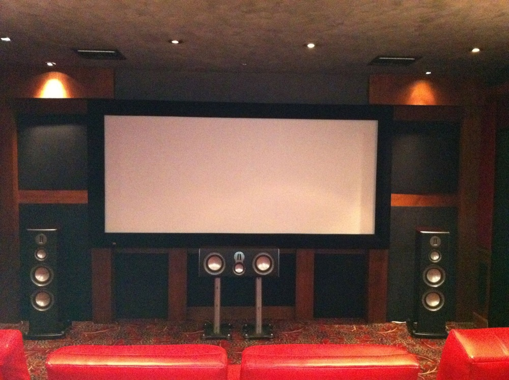Theater Motorized Masking Screen Hutch Resources