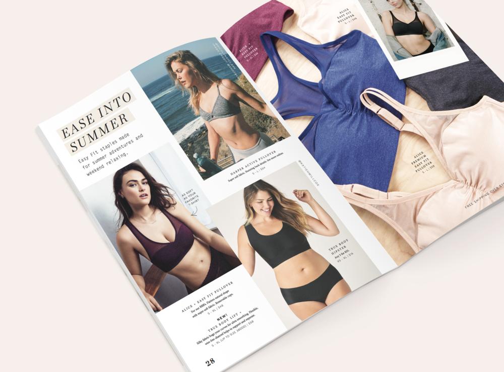 True&Co. Print Design |branding, catalog design, art direction