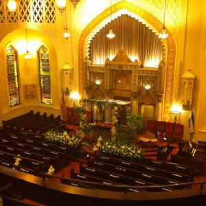 Sanctuary at Park Avenue Synagogue