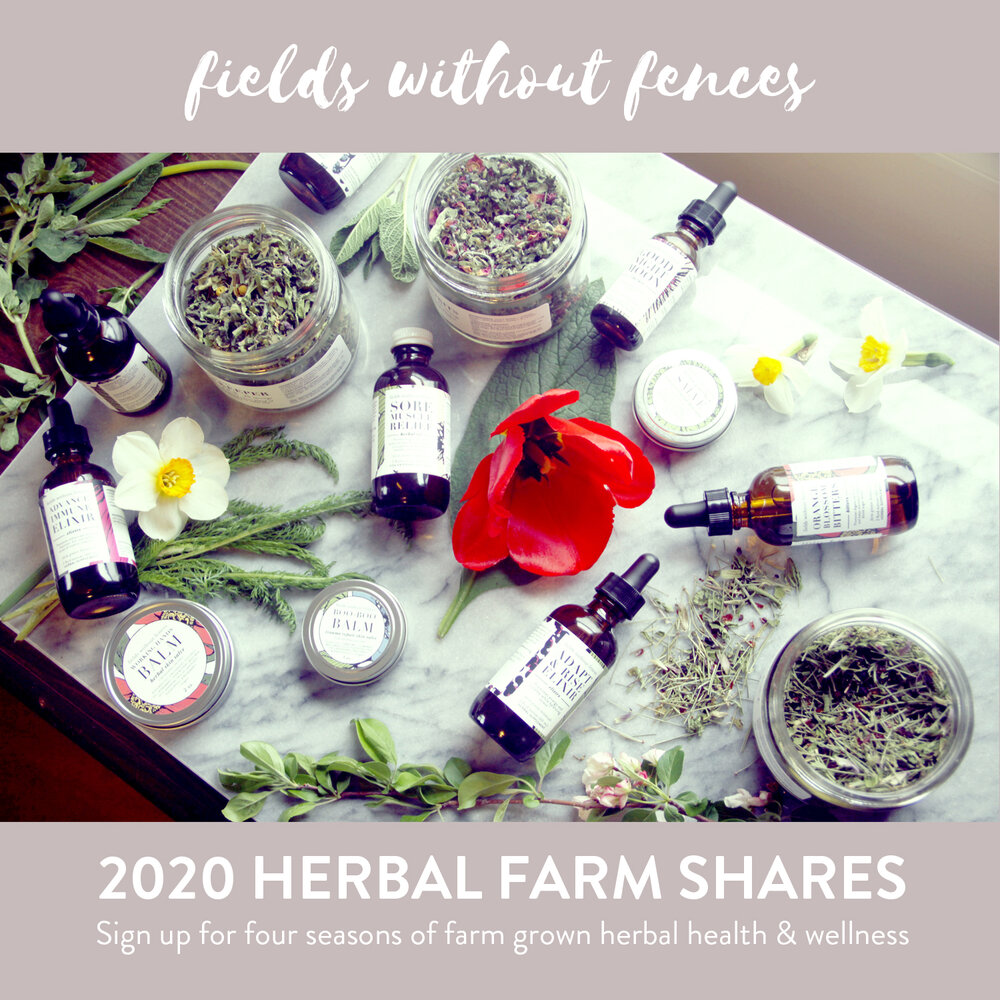 herbal farm membership — Fields Without Fences