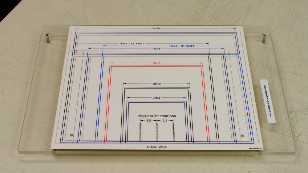Acrylic Test Fixture