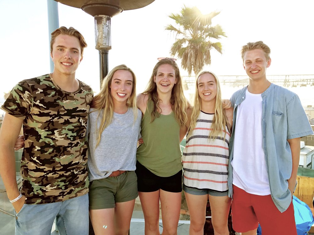 Our students make life-long friendships on our trip