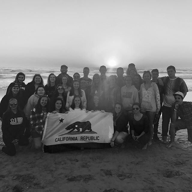 What an incredible ride! Loved every minute of being in Cali with my new family! ✌🏼 #bus2 #forintern #calbreak2017 #idontwanttoliveforever