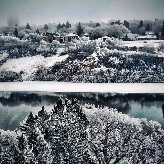 Winter Wonderland #exploresask  #shotoniphone  #winter