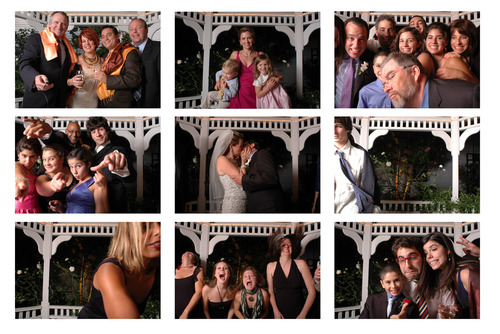 Wedding photo Booth images