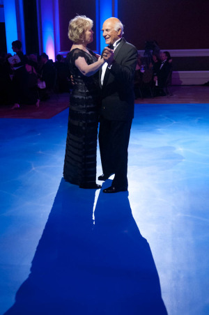 Couple dancing at a Washington DC Fundraiser