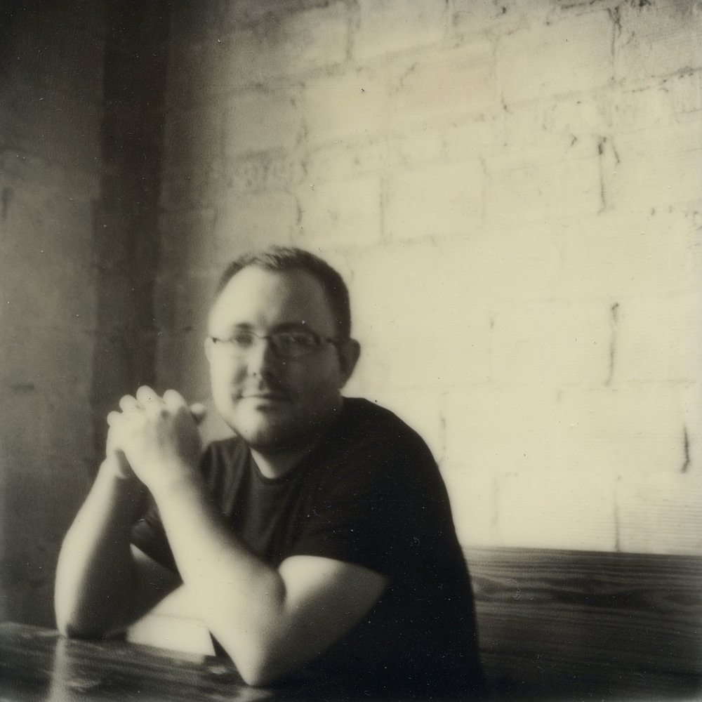 Impossible Project  Portrait of Denny Henry by the lovely Jacqulyn Henry