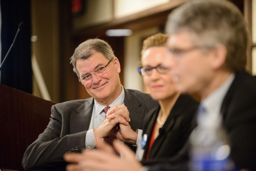 Cystic Fibrosis Foundation CEO Preston Campbell.