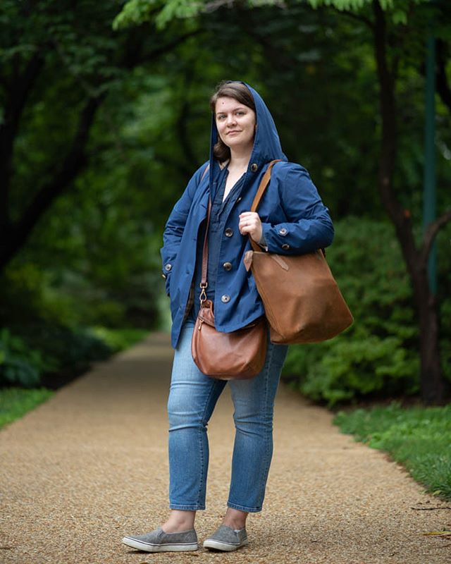 A little flash back to last week when @mrs.jackiehenry was my assistant / bag carrier for a rainy editorial shoot on the hill.  She's a trooper (promises of after shoot Shake Shack help.)