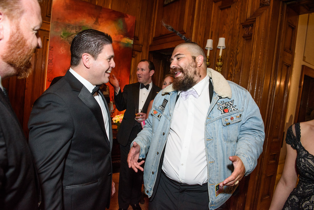 Josh Ostrovsky aka The Fat Jew at the White House Correspondents Dinner Party at the Embassy of Colombia in Washington, DC.