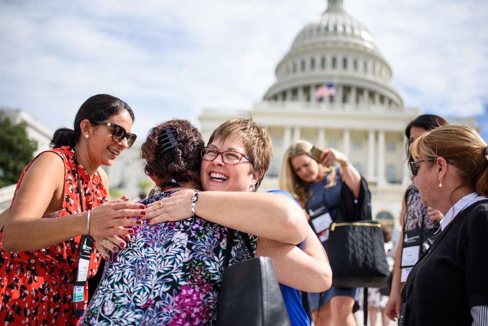 Advocacy Day on Capitol Hill for the Pulmonary Hypertension Association.