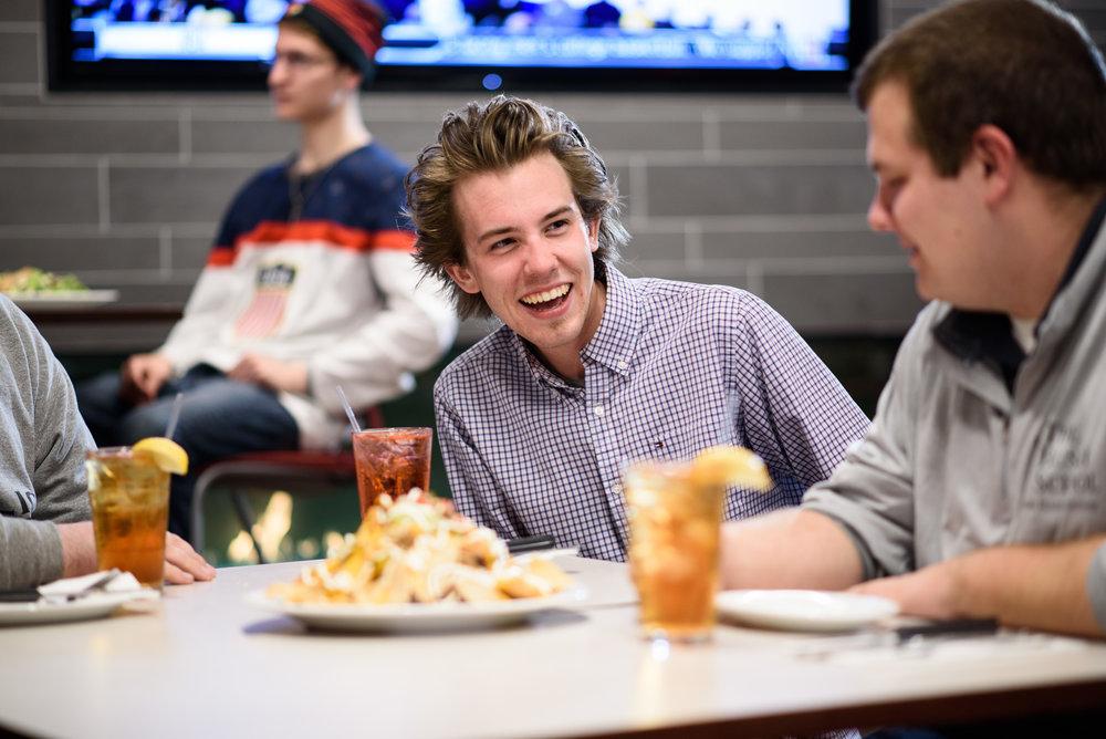 Student life at the Catholic University of America in Washington, DC.