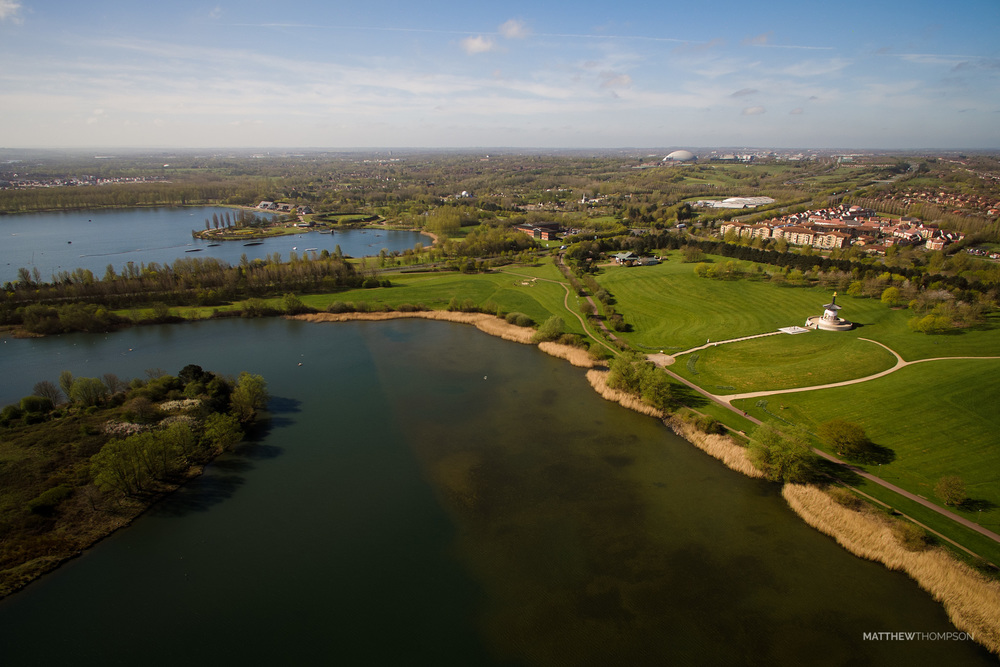 Willen Lake and Milton Keynes